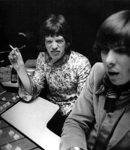 glyn johns with mick (or vice versa)