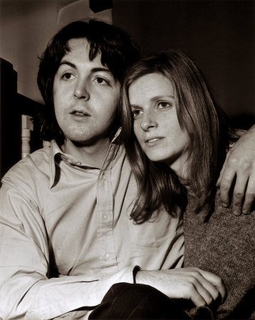 Linda Eastman and Paul