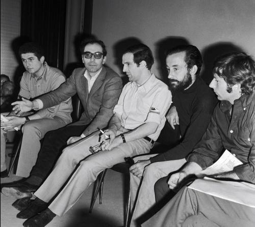 Lelouch, Godard, Truffaut, Malle and Polanski