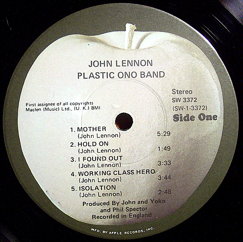 Plastic Ono record label