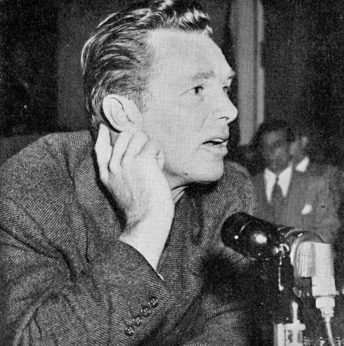 Image result for sterling hayden and huac
