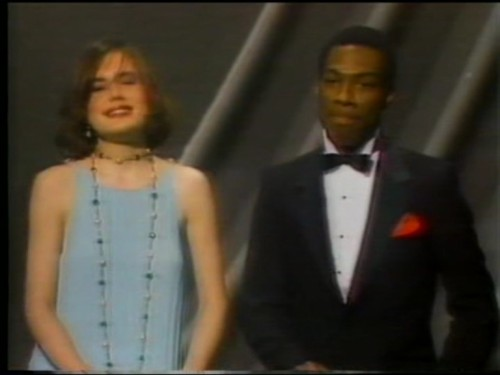 Brooke Shields and Eddie Murphy
