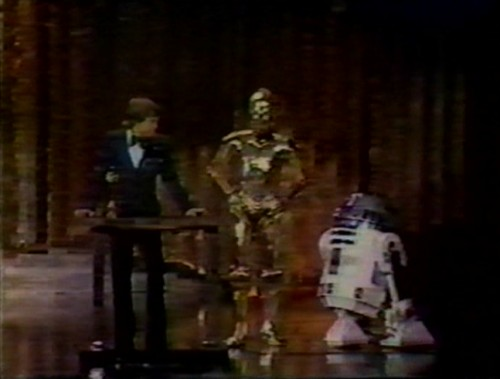 Mark Hamill, C-3PO and R2-D2