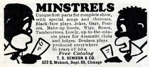minstrel supplies