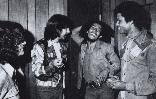 Bob Marley, George Harrison
