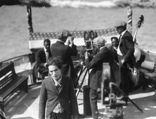 Chaplin directs