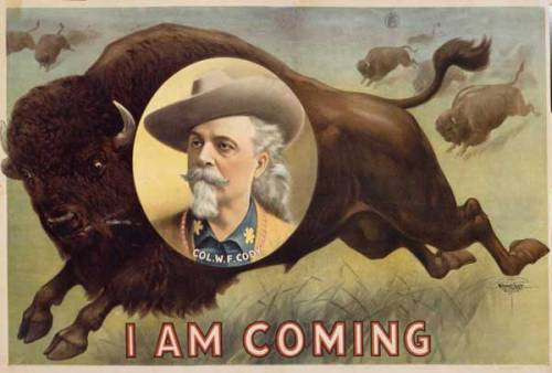 Buffalo Bill is coming