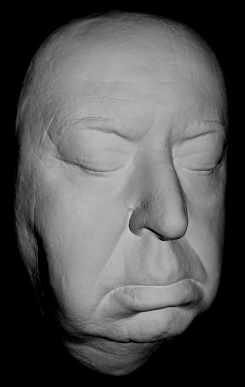 Hitchcock life mask