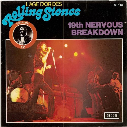 19th Nervous Breakdown French reissue