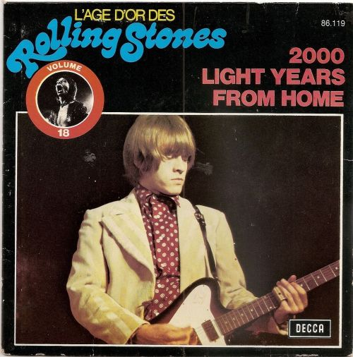 2000 Light Years From Home France reissue