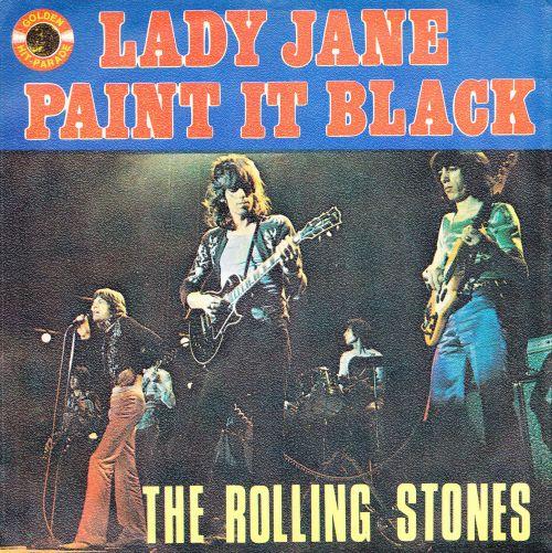 Lady Jane reissue 1971 Belgium