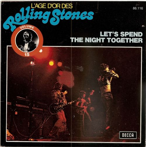 Let's Spend the Night Together France reissue