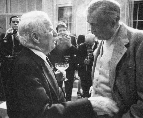 Chaplin, Huston