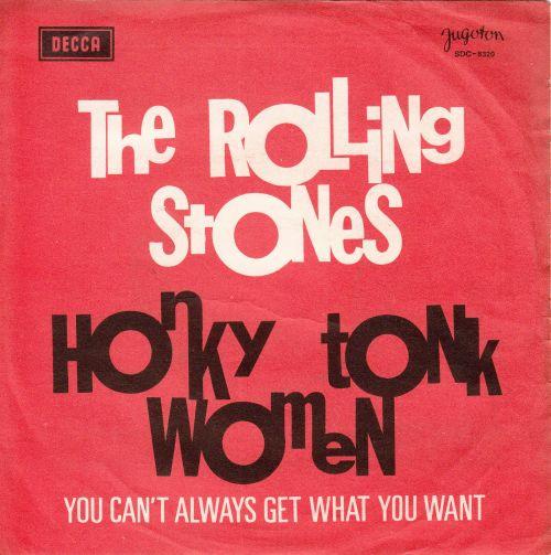 Honky Tonk Women Yugoslavia