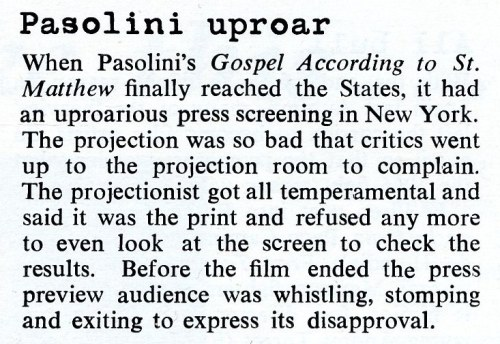 Pasolini March 1966