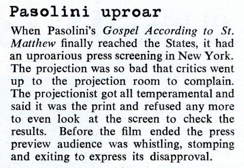 Pasolini March 1966