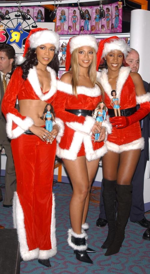 Destiny's Child Unveil Their Dolls