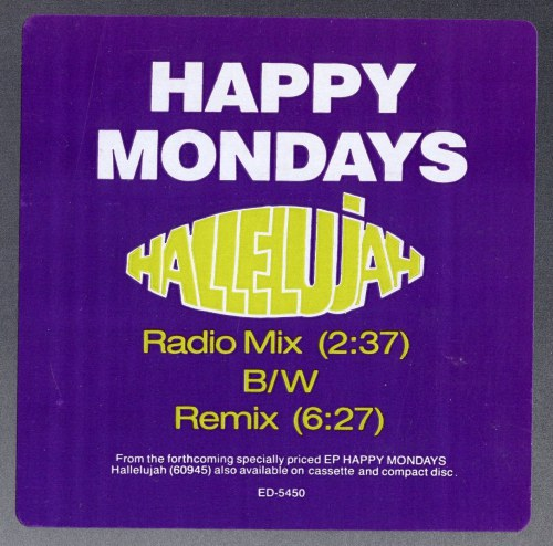 Happy Mondays Hallelujah