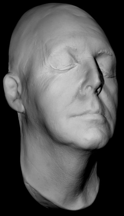 Paul McCartney life mask