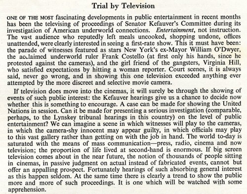 Trial by Television