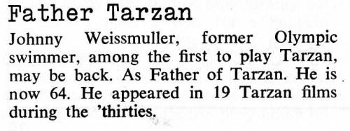Father Tarzan