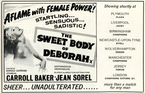 The Sweet Body of Deborah